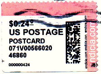 The Meter Stamp Society - CVP PCPostage Undated