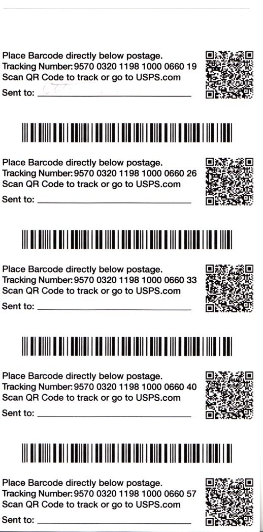 FCM Tracking Barcode